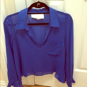 Rory Beca Navy Blouse